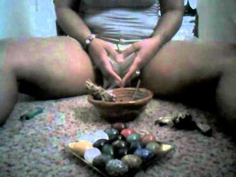 Yoni egg insertion video
