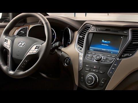 Hyundai 2015 Hyundai Sante Fe Interior Youtube
