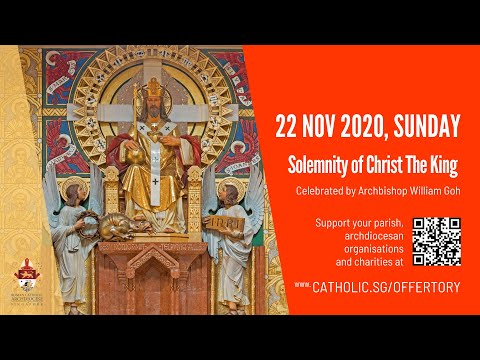 Catholic Sunday Mass Today Live Online - Sunday, Solemnity of Christ The King 2020