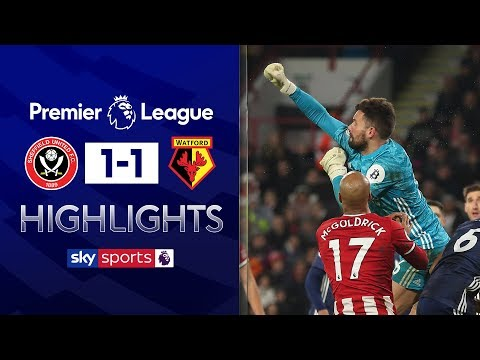 Foster stars in hard-fought Watford draw | Sheffield United 1-1 Watford | Premier League Highlights
