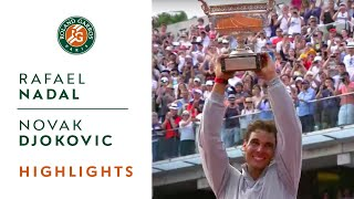 R. Nadal v. N. Djokovic 2014 French Open Men
