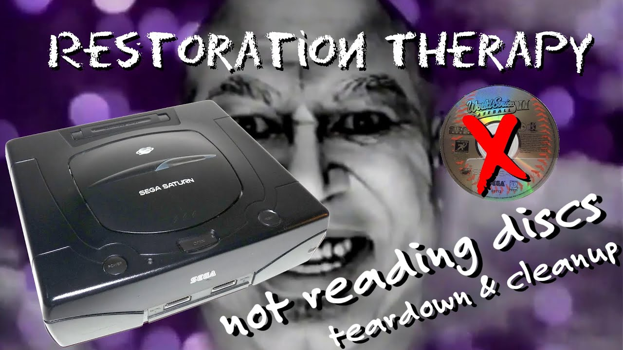 Sega Saturn Model 2 - Teardown, Cleanup, Repair - Doesn't Read Discs
