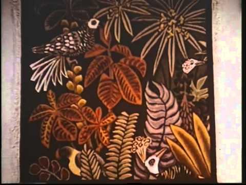 Utilisation des arts manuels en Ergothérapie : La tapisserie -M0502 Film 102