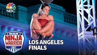 Rebekah Bonilla at the Los Angeles City Finals - American Ninja Warrior 2017