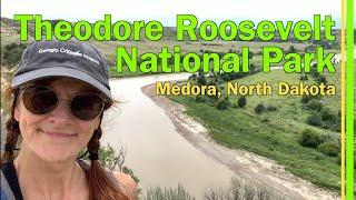 RV LIVING   THEODORE ROOSEVELT NATIONAL PARK   NORTH DAKOTA SOUTH UNIT   BISON  WILD MUSTANG - EP88
