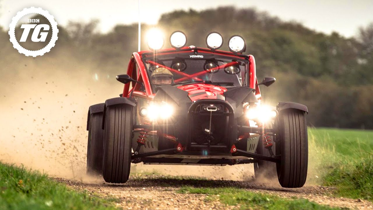 TopGear.com presents: the Ariel Nomad in 'Field Trip' | Top Gear