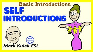 Self-Introduction | Basic English Conversation Practice | ESL | EFL