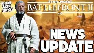 Grievous Skin with Cape, Old Ben Kenobi Appearance Possible and Boba Buff! Star Wars Battlefront 2