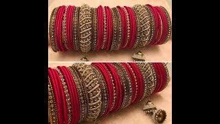 Bangles chooda latest /Latest bridal chuda for indian brides/Latest banglesdesigns for indian brides