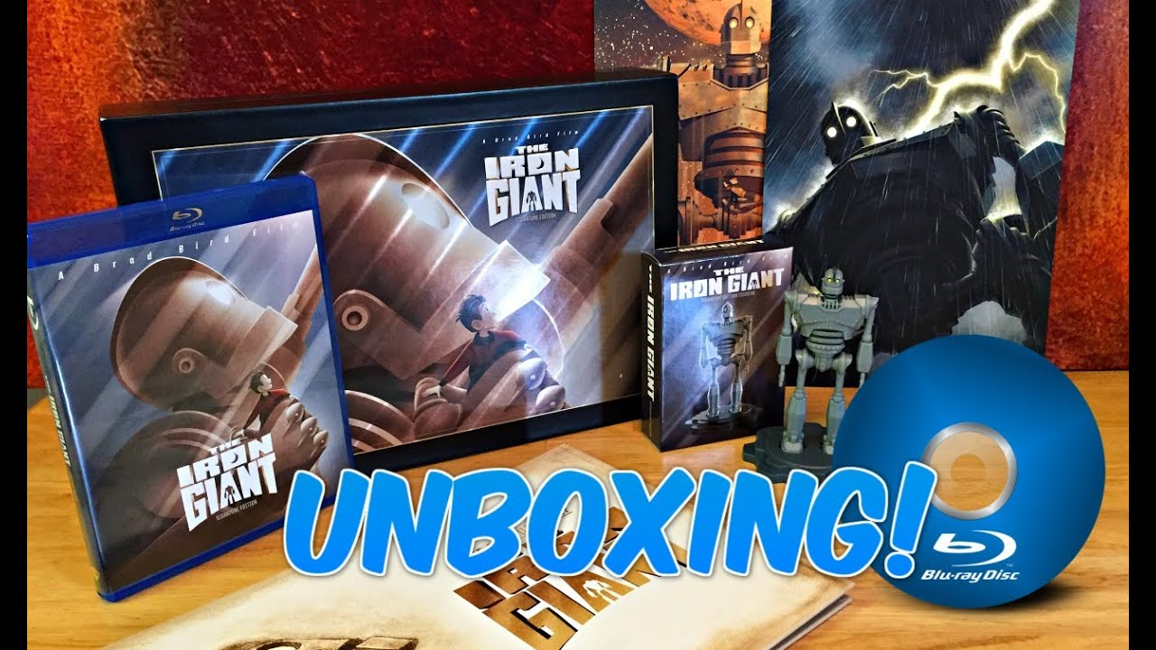 Download THE IRON GIANT | Ultimate Collector's Signature Ed  Blu-Ray | UNBOXING VIDEO