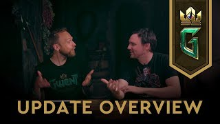 gwent the witcher card game user experience update overview 29052019