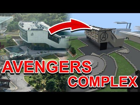Avengers HQ Map! | MCPE Avengers Headquarters (Endgame)