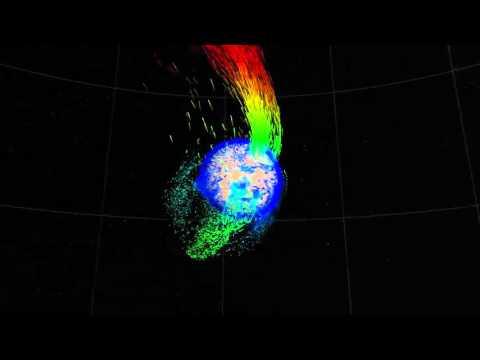 MAVEN   Solar Wind Strips Martian Atmosphere