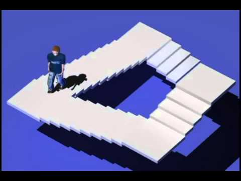 Escherian Stairwell Reveal How It Works Youtube
