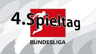 4.Spieltag Bundesliga 2017/18 Prognose / Alle Spiele & Tipps !