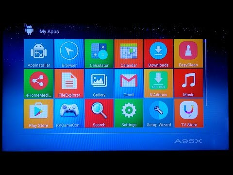 Alfawise A95X R1 TV Box running android 6