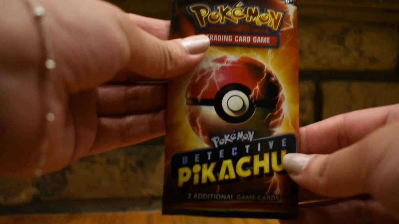 Movie Promo Packs Detective Pikachu Promo Pack Lot Of 5