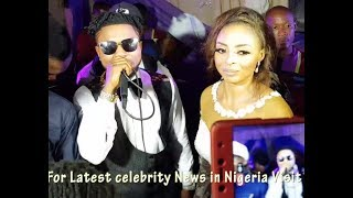 So Romantic Oritsefemi Sings For His Beautiful WifeAs She Blushes  Danced At Their Wedding