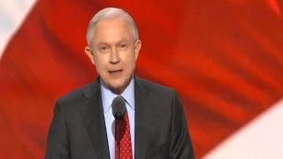 Sen. Jeff Sessions.  Alabama.  Speech. Republican National Convention  July 19, 2016 Free HD Video