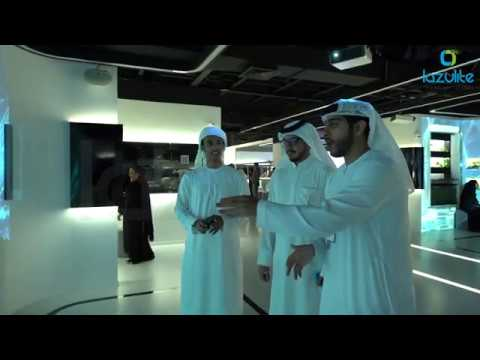Interactive Story Wall of TRA Dubai at GITEX 2019 by Lazulite Technology Services