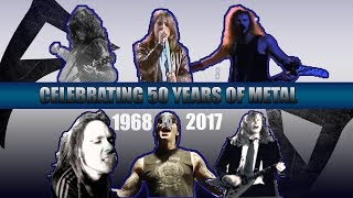 The #1 Biggest  METAL Hits Of Each Year [ 1968 - 2017 ]