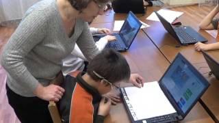 Фрагмент урока по элементарной компьютерной грамотности