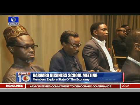 News@10: Havard Business School Members Explore State Of Nigeria's Economy 25/06/16 Pt 3
