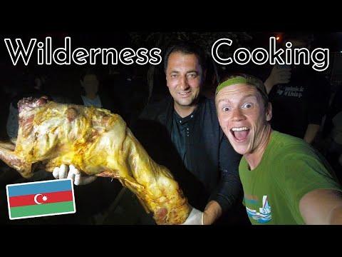 @WILDERNESS COOKING Cooked Us an ENTIRE LAMB in Gabala, Azerbaijan! Azerbaijan Travel Vlog