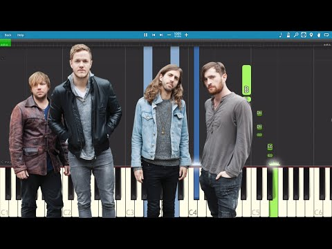Imagine Dragons - Walking The Wire - Piano Tutorial - Instrumental