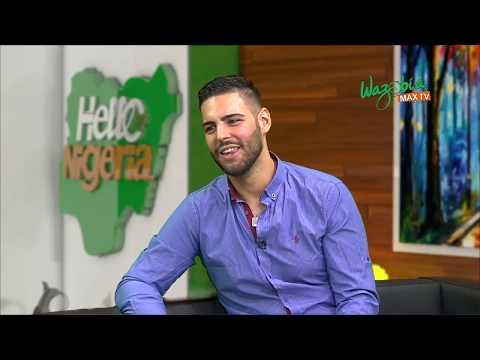 German/Greek Oyinbo Boy, NikiTall on how He learnt Pidgin English & becoming a Nigerian Artist