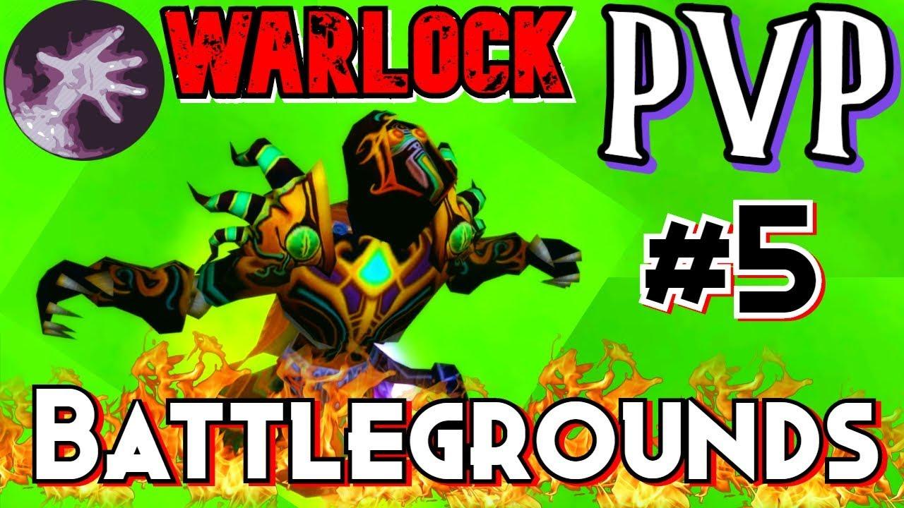 Wow Classic Warlock Tier 3 Battlegrounds Pvp Voivid Youtube