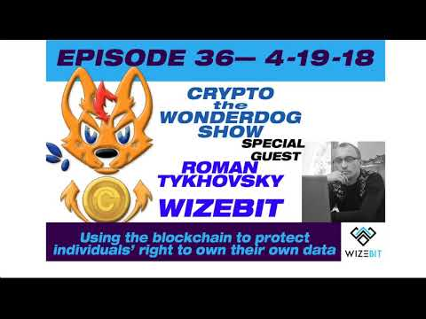 E36 - Using Blockchian to protect your data! WIZEBIT.COM