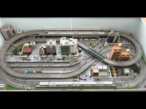 【鉄道模型・Nゲージ】レイアウト紹介(1) 'Model railroad'