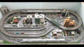 """【鉄道模型・Nゲージ】レイアウト紹介(1) """"Model railroad"""""""