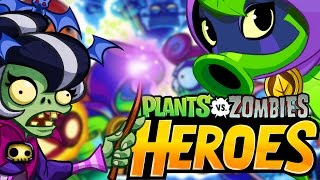 Plants vs. Zombie Heroes INSANE IMOTICIA Vs GREEN SHADOW BOSS BATTLE!! | Best New PVZ Game IOS!