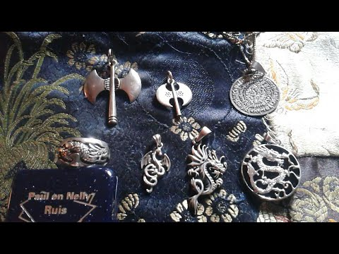 My .925 Silver Dragon pendants/ring and more