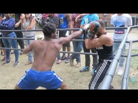 BOXER Vs MMA Fighter (STREET BOXING)