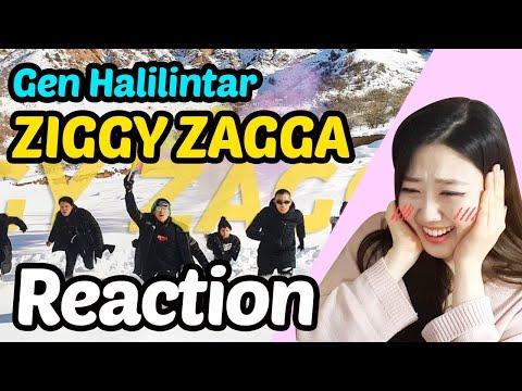Reaction To Gen Halilintar - ZIGGY ZAGGA