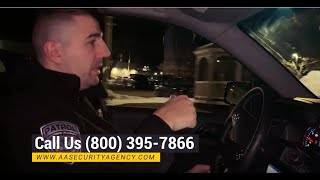 Security Guard Services - Car Patrols // American Alliance Security Agency