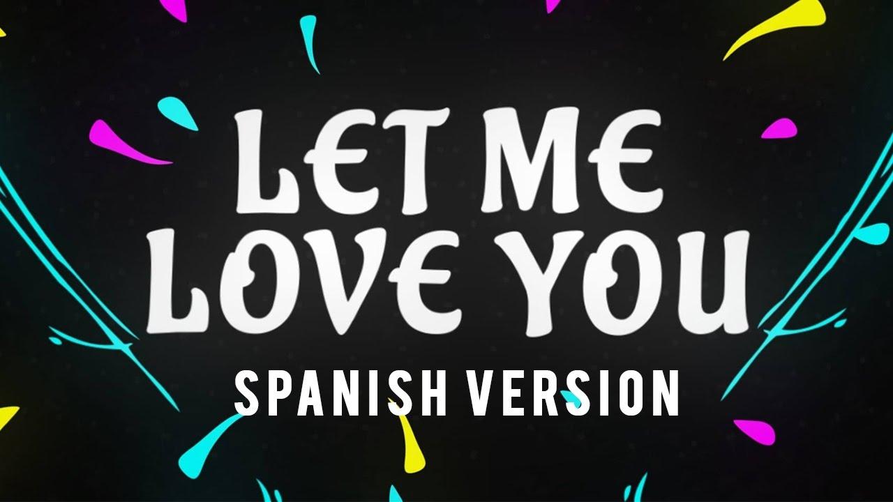 Cancion de let me love you justin bieber