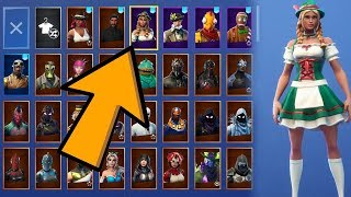 MY NEW SKINS COLLECTION ? FORTNITE: Battle Royale