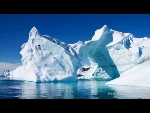 The Incredible Natures and Creatures in Ice Canyon, Greenland