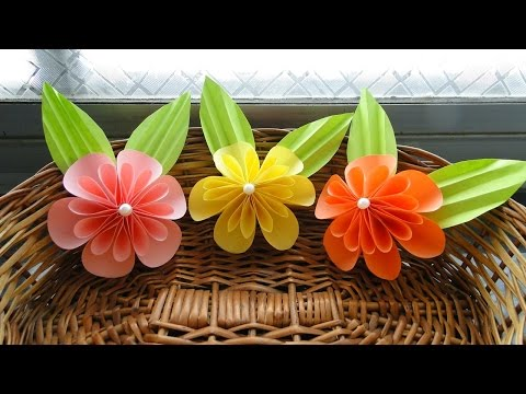 How To Make Paper Flowers Easy Steps