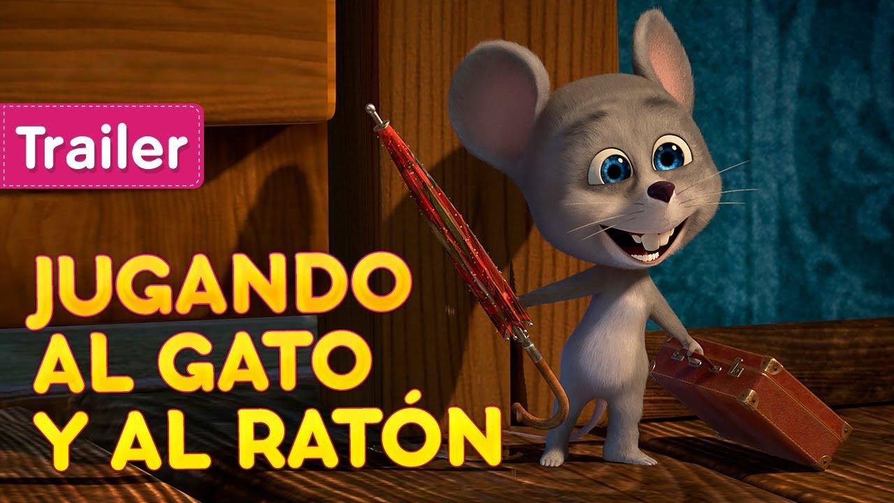 Masha Y El Oso Jugando Al Gato Y Al Ratón Trailer Youtube