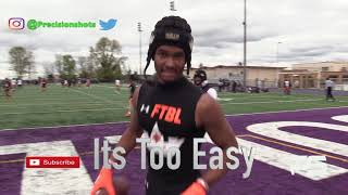 🔥👑💯 #1 ATH In The Nation I Emeka Egbuka I 5 Star Baller I Heir Football Academy Highlights I 2019