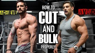 CUTTING & BULKING The Right Way | Avoid The BIG Mistakes (Lex Fitness)