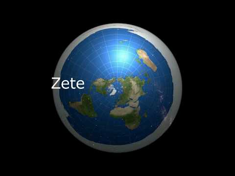 Google Earth is not a globe! (Flat Earth Asshole via Zetetic Flat Earth)