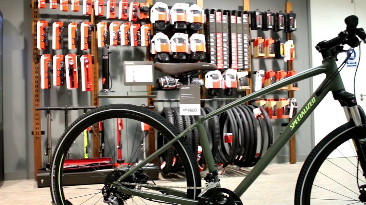 Specialized Ariel Sport Hybrid Bike 2017 Youtube