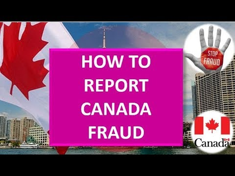 Report CANADA Fraud To IRCC | Canada Fraud Prevention Month
