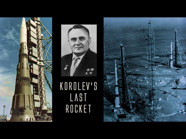 Space music: Korolev's Last Rocket (For the 60th anniversary of human spaceflight)